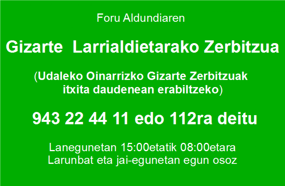 Gizarte Zerbitzuak