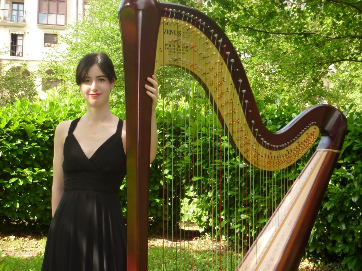 Alaia Belaunzaranek harpa kontzertua emango du datorren asteazkenean