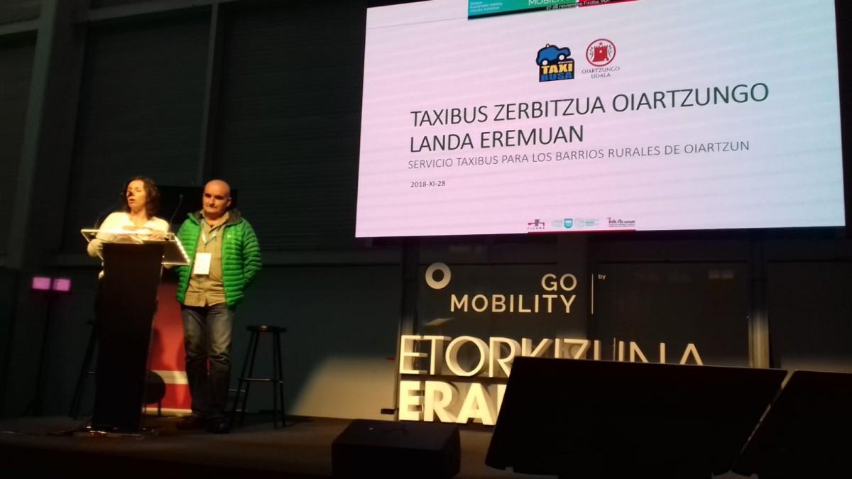 Taxibus zerbitzua ezagutzera eman da GoMobility azokan