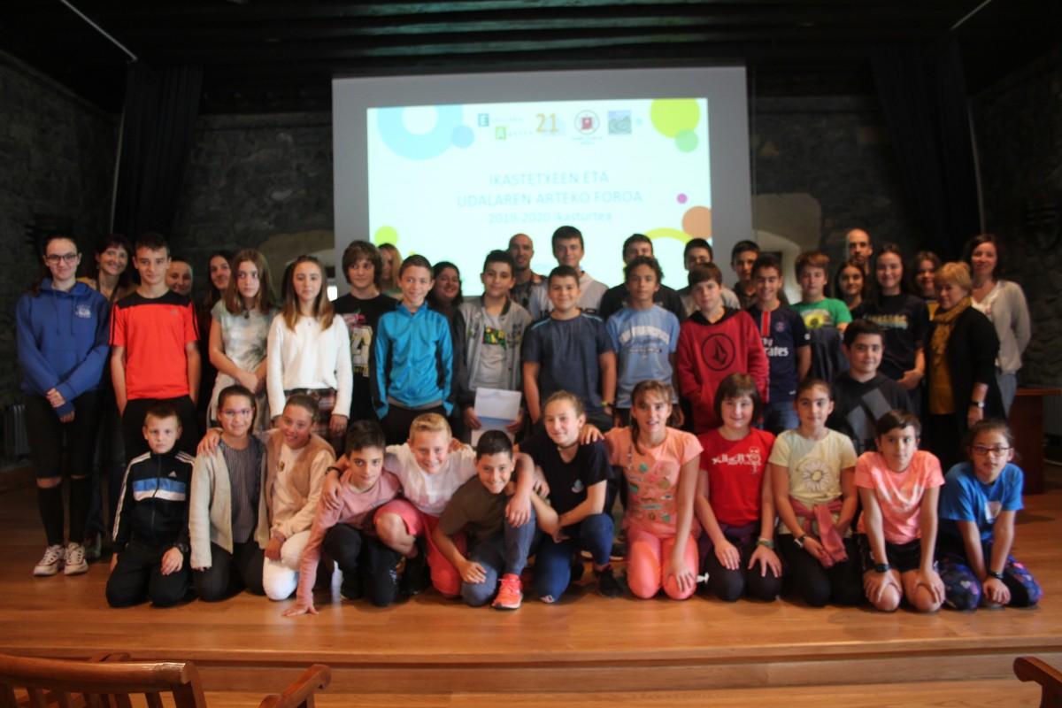 Eskola Agenda 21n aurreko ikasturtean egindako eskaerak erantzun ditu Udalak