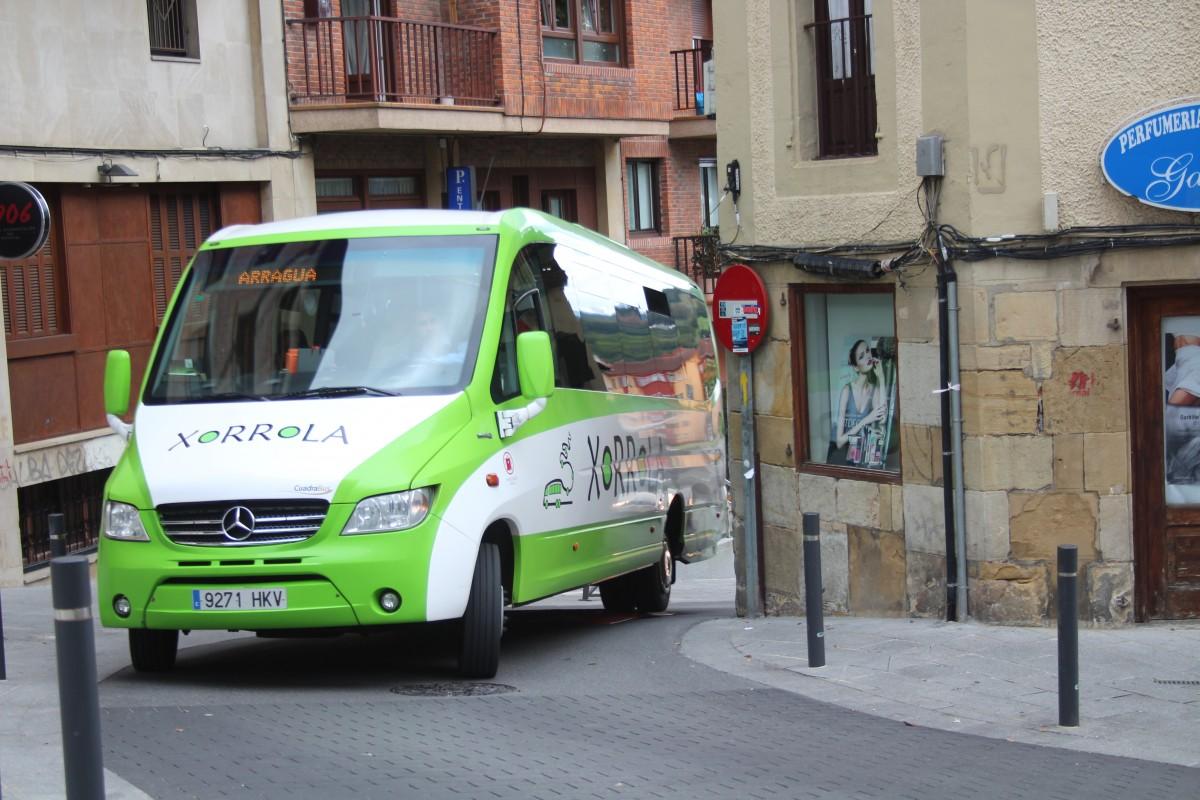 Xorrola autobus zerbitzua goizago bukatuko da hilaren 24an eta 31n