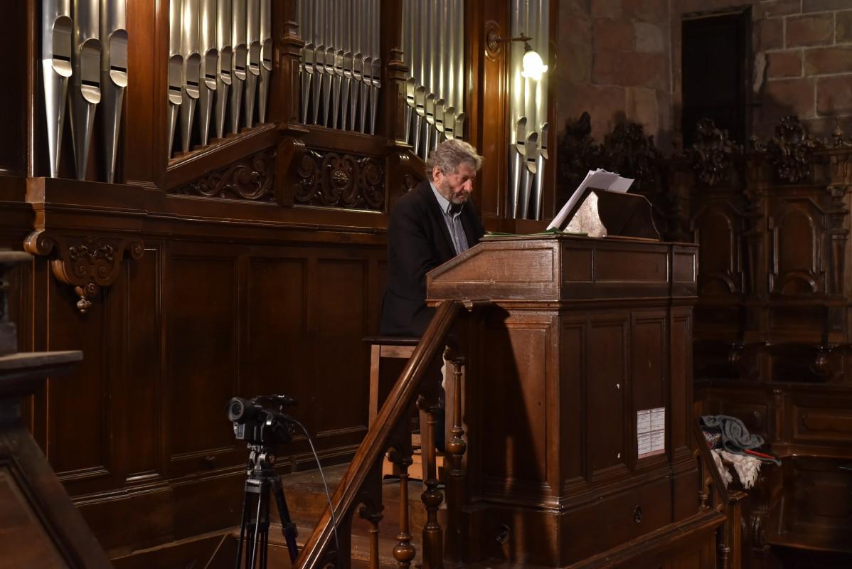 Denis Lacorrek ikertuko du San Esteban elizako organoaren historia