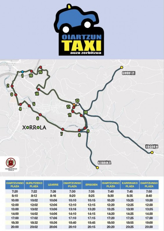 Taxi-bus zerbitzua