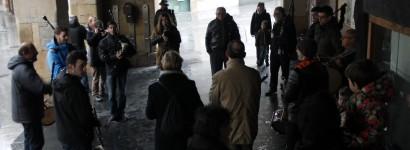 Kontxa Murgia omentzeko elkartu dira Udala eta inguruko galiziarrak
