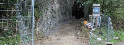 Ibarreko bidegorriko tunelak egonkortzeko lanak egiten hasi da Udala