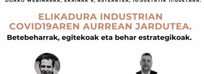 Elikagaien industriaren sektoreari zuzendutako doako webinarra izango da gaur zortzi