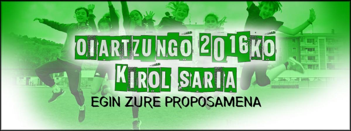 Kirol saria 2016